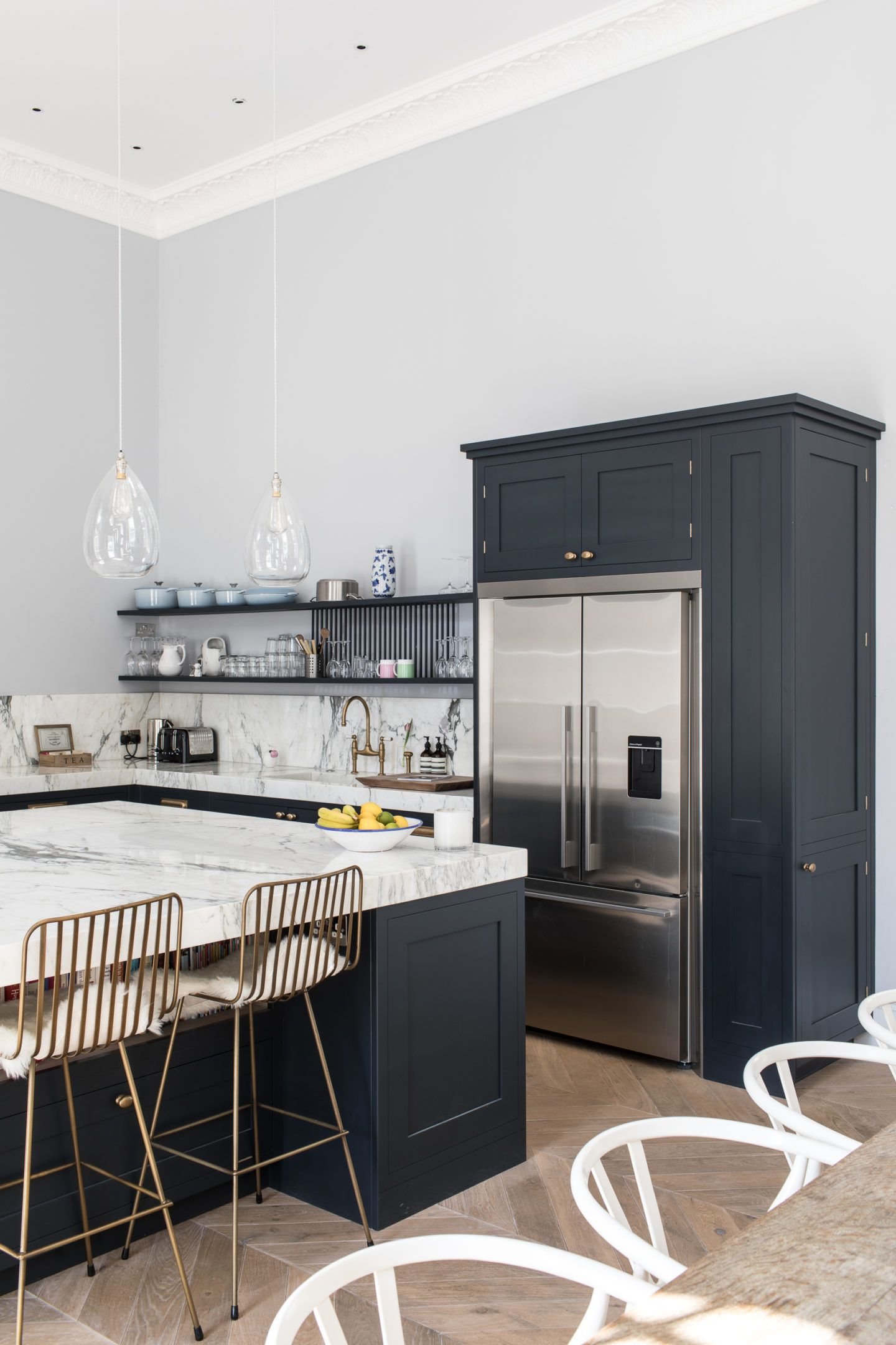 Anatomy of the Ultimate Kitchen Island | Kitchen design, Butler and ...