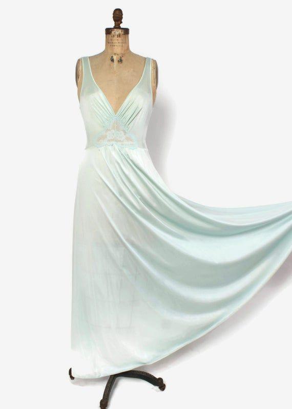 60s Sheer Nightgown & Peignoir Set - Retromended Vintage