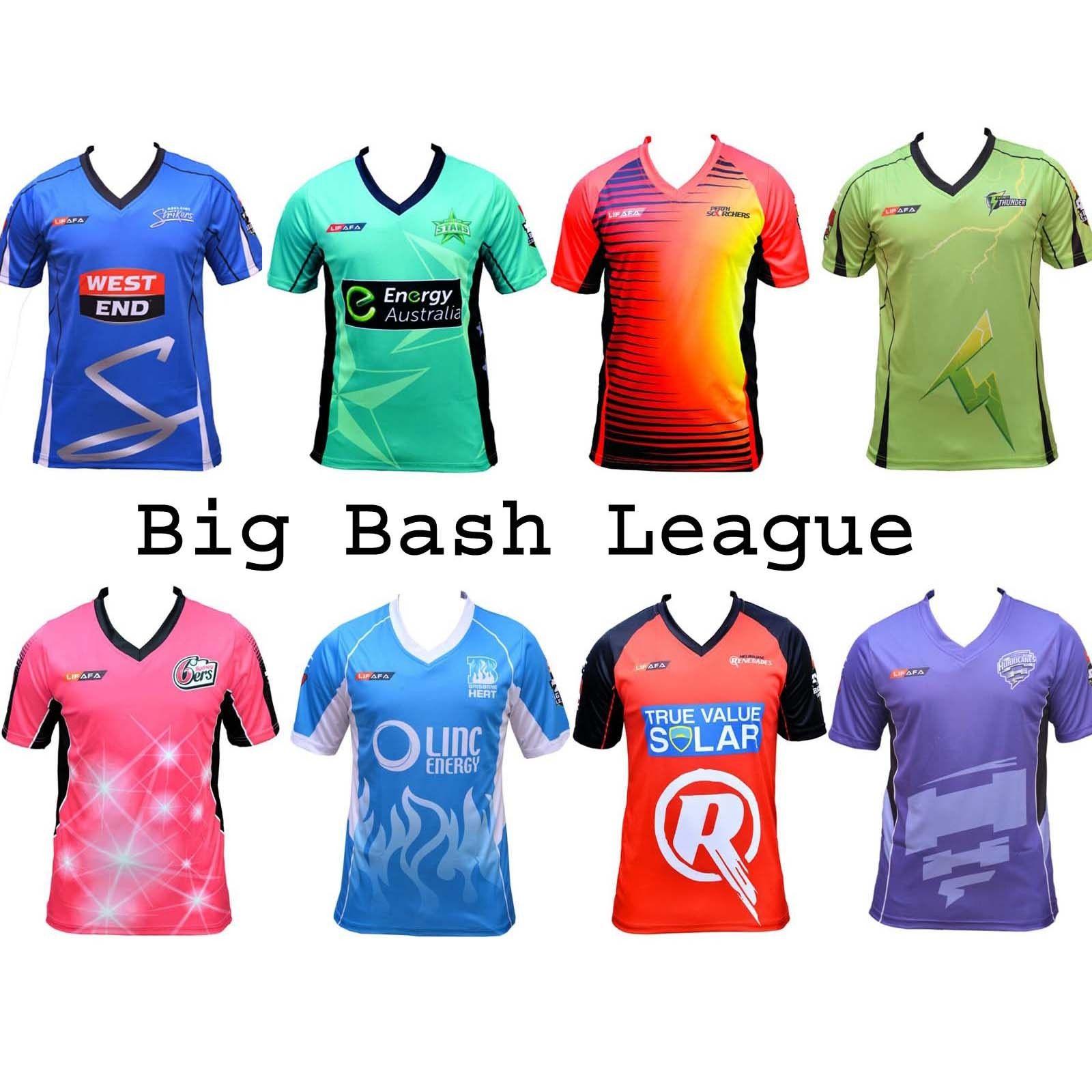 NEW Melbourne Stars Men's Cricket TShirt BBL Team