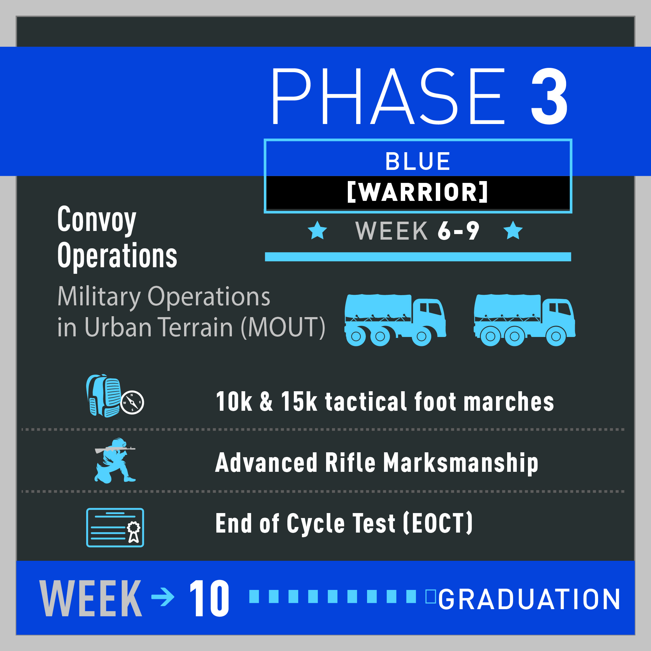 The Blue Phase, Or Warrior Phase, Is Where You Increase