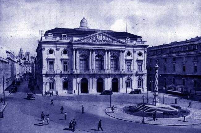 fotos antigas... a praça do município de lx