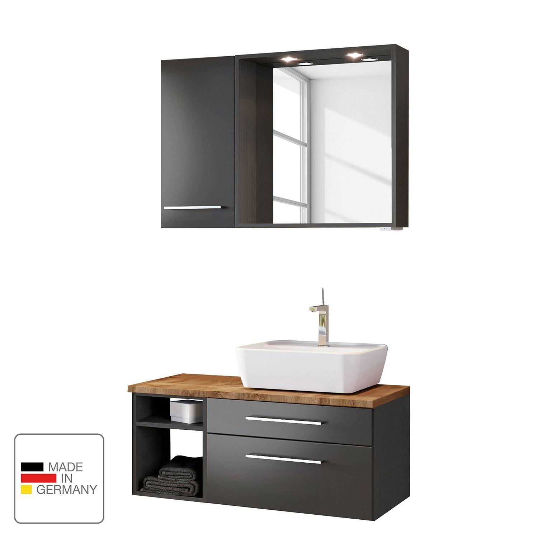 Badezimmerset Davos Iii 3 Teilig Waschtisch Set Badezimmer Set Und Waschtisch