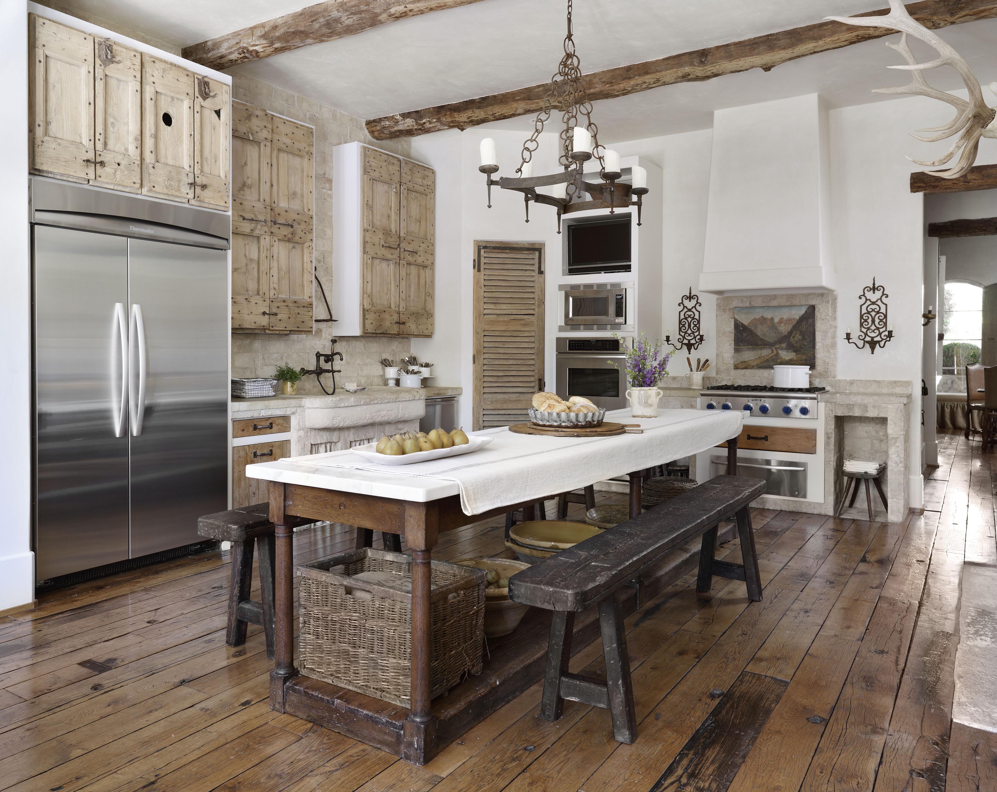 Country French Kitchens | Cocina de campo, Decoración francesa y ...