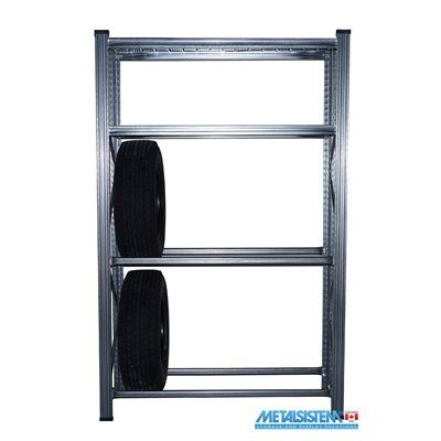 Hilicom D-616983802809 Metalsistem Unirack Heavy-Duty Tire Rack and Shelving Kit