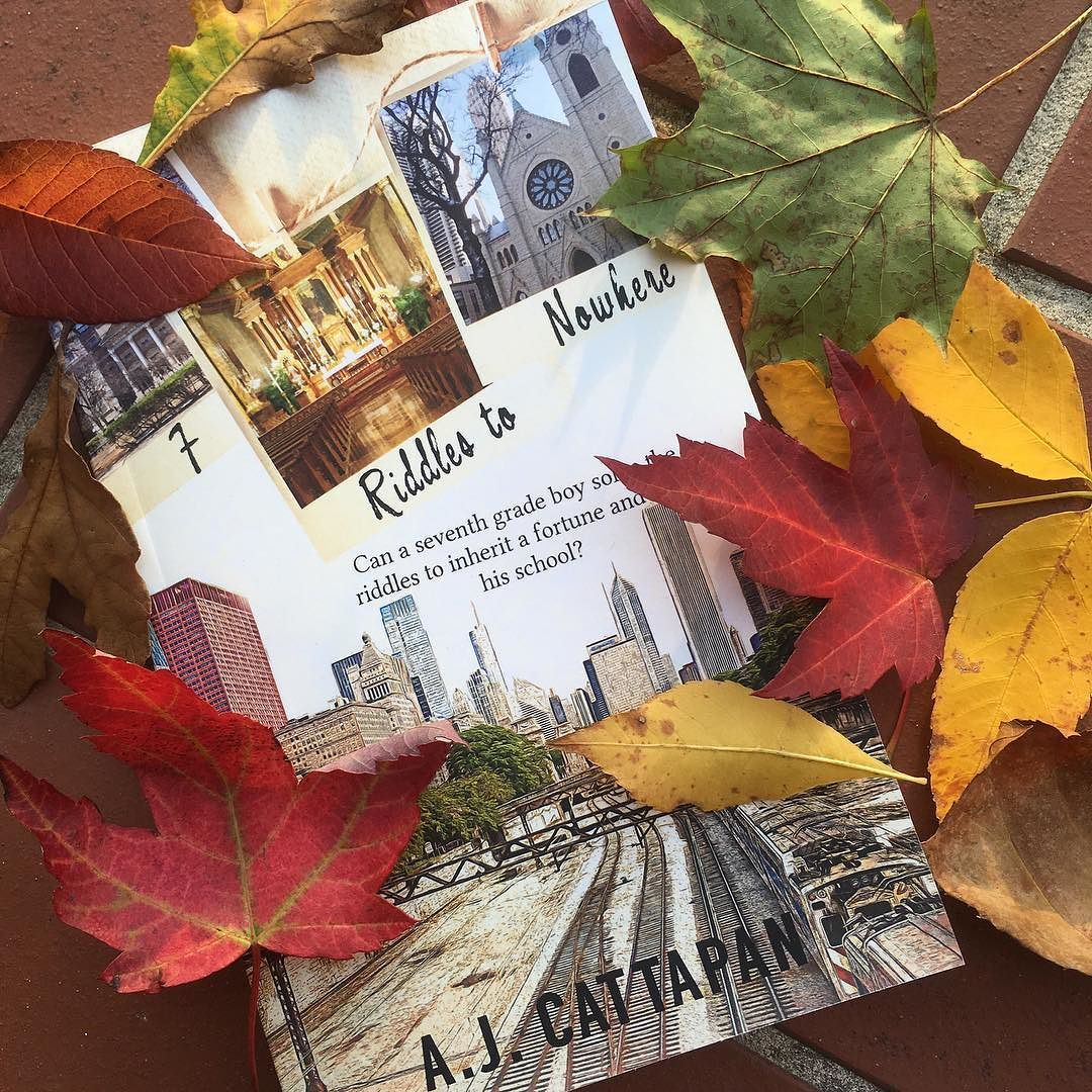 #booktoberfest Day 4: Book  Fall Leaves. Had fun collecting these fall leaves while on a walk this evening. You can watch the whole thing on #snapchat  . . . . #chicago #chicagogram  #middlegrade #middlegradebooks #mglit #middlegradefiction #bookstagram #booknerd #bibliophile #bookworm #bookish #booknerdigans #bookaddict #bookfan #booklove #igbooks #instabooks #instareads #booksoninstagram #epicreads #authorsofinstagram #writersofinstagram #fall #autumn #october #octoberphotochallenge
