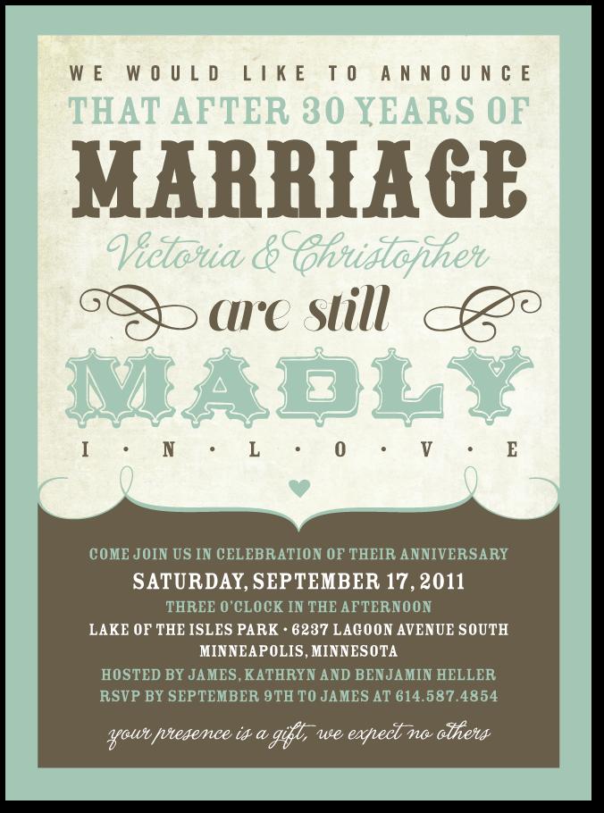 10th Wedding Anniversary Party Ideas