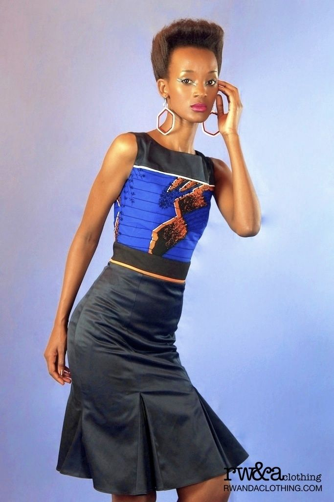 Model Georgette  Photographer:Joselyne Umutoniwase                        ,Till Loeper