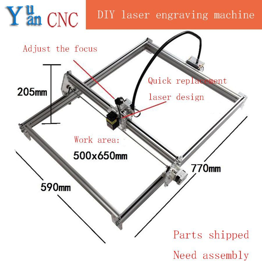 DIY CNC machine Laser Engraving Machine wood router Mini