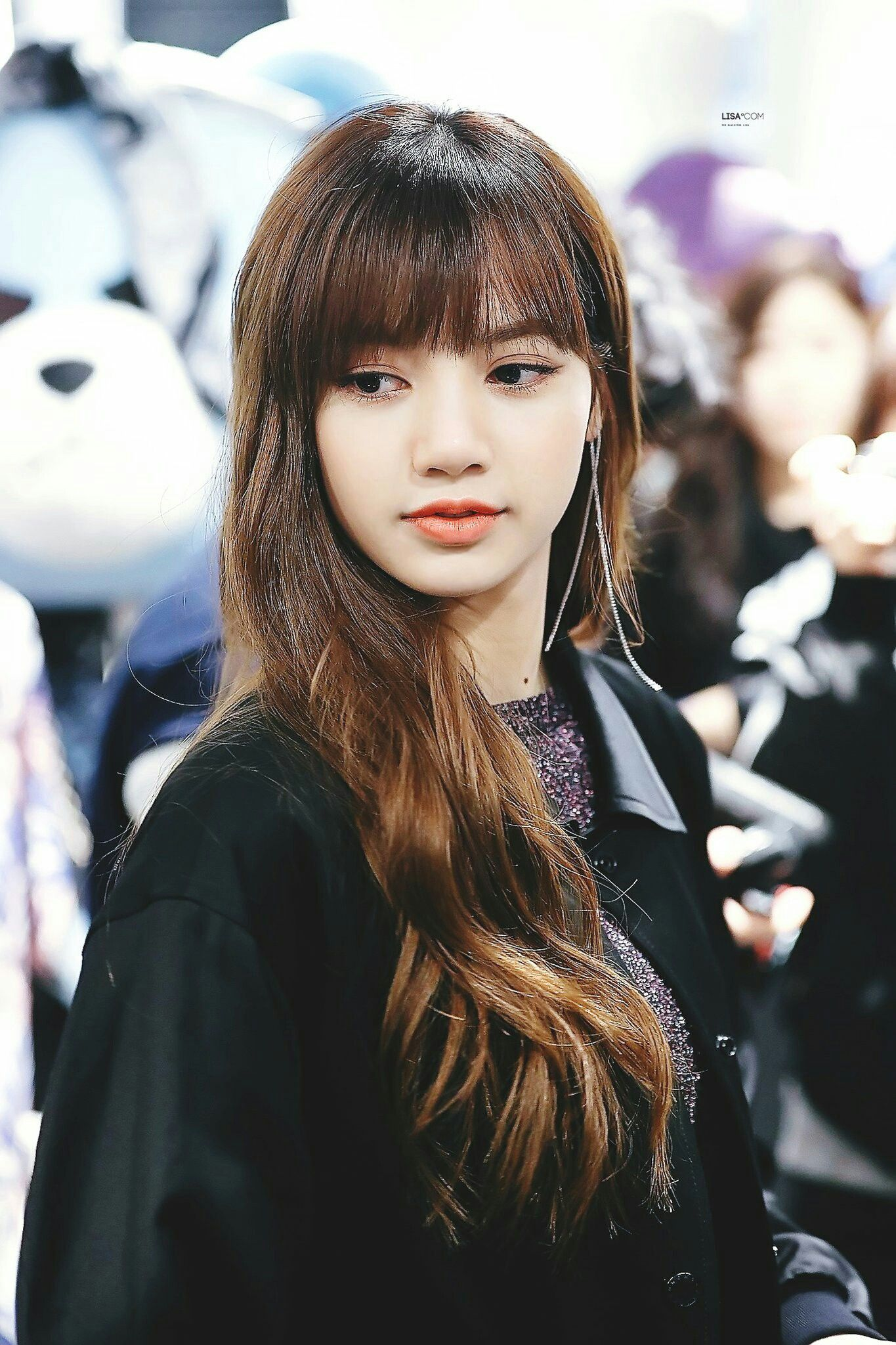 blackpink lisa at nonagon fanmeeting everything beauty in 2018