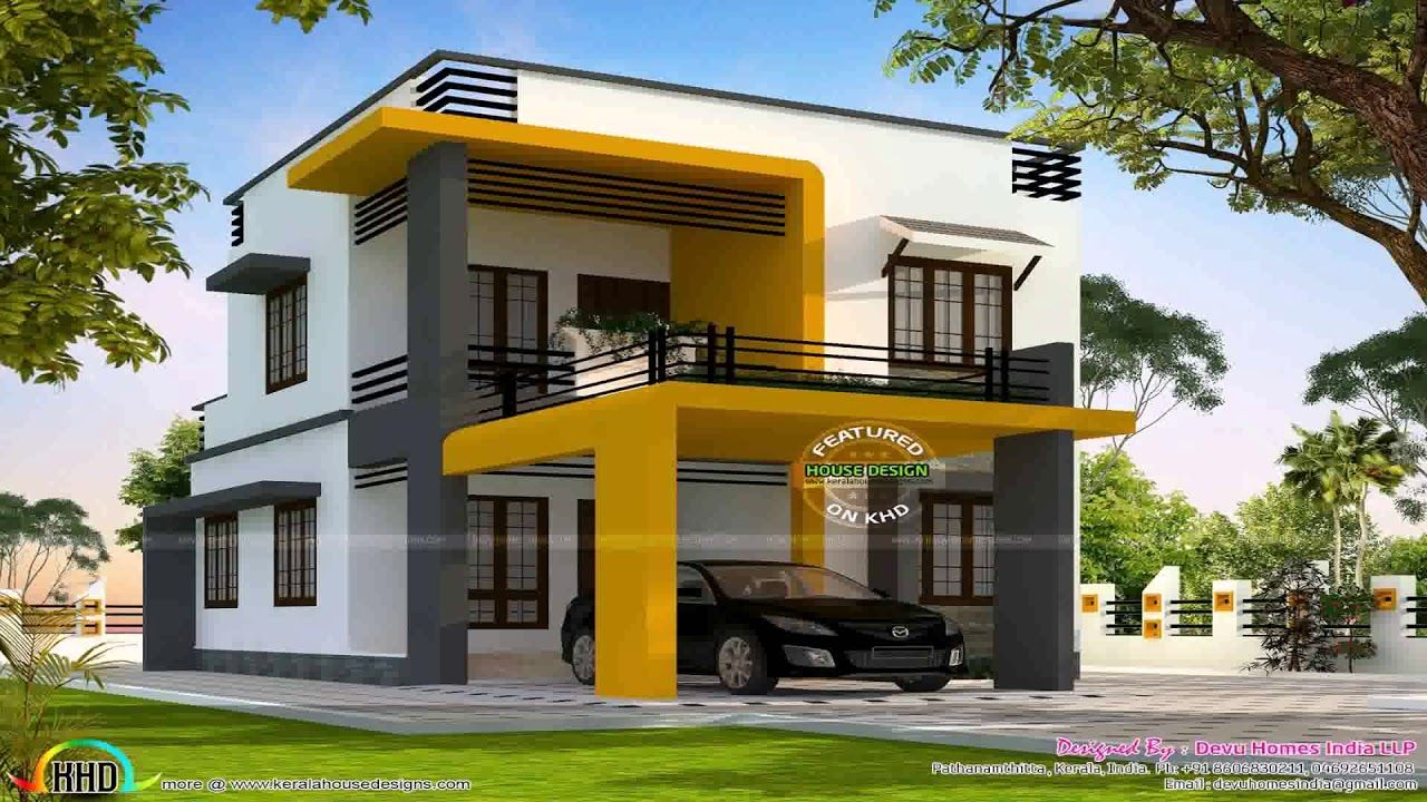 Home Design 750 Sq Ft Box House Design Kerala House Design Modern Style House Plans