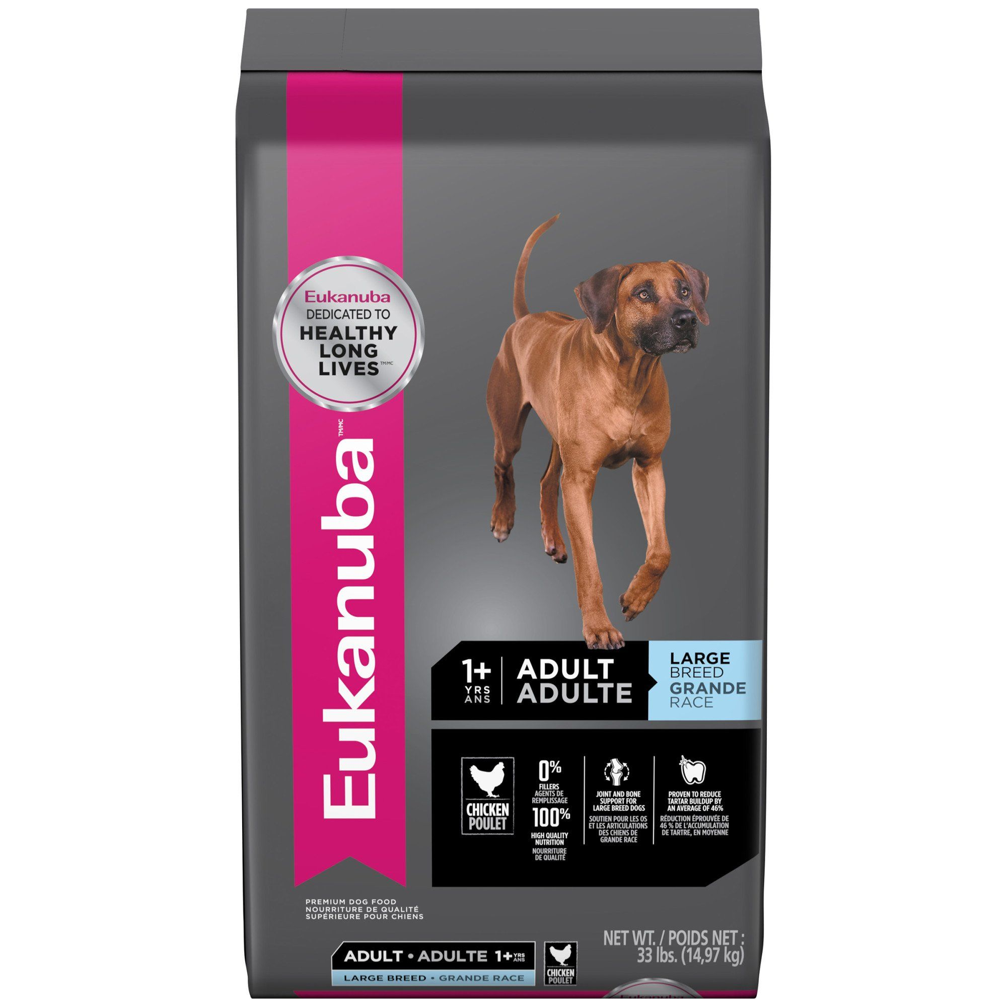 Eukanuba Large Breed Adult Dog Food 33 Lbs In 2019 Pets Large