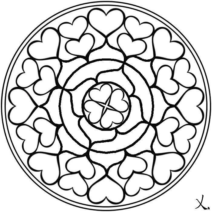 Dibujos Abstractos Para Pintar. Awesome Mandala Floral Dibujos Para ...