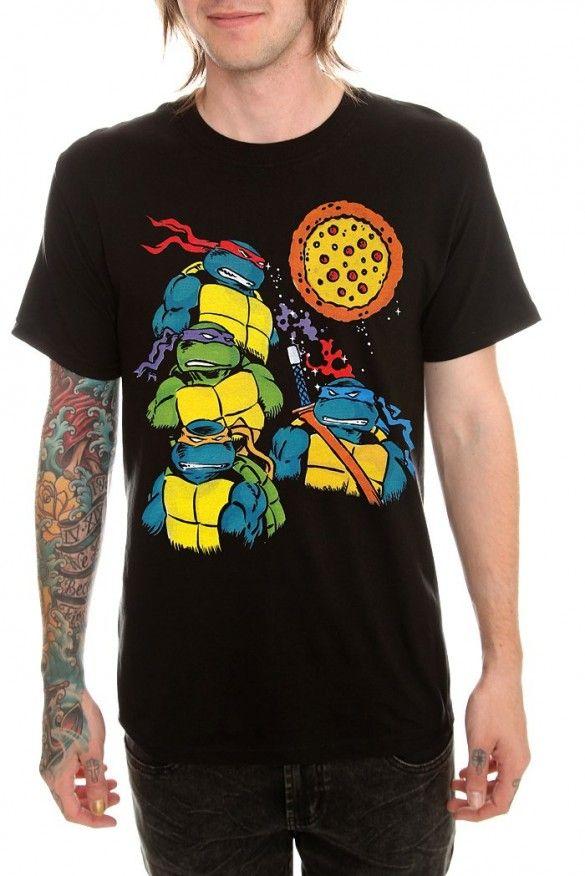 a2ecd2da8 The Teenage Mutant Ninja Turtles: 16 t-shirts designs with the fearless  turtles - fancy-tshirts.com
