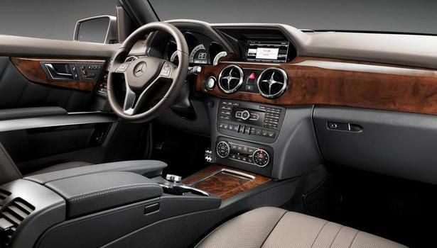 2016 Mercedes Glk Interior