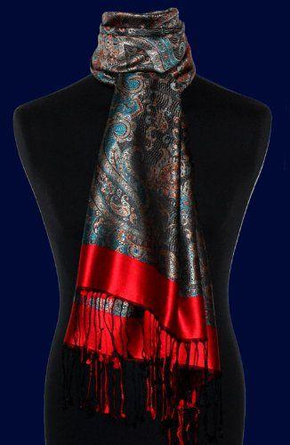 Socially Conveyed Via Welikedthis Co Uk The Uk S Finest Products Lorenzo Cana Authentic Luxury Silk Scarf Pashmi Luxury Silk Scarves Pashmina Scarf Scarf