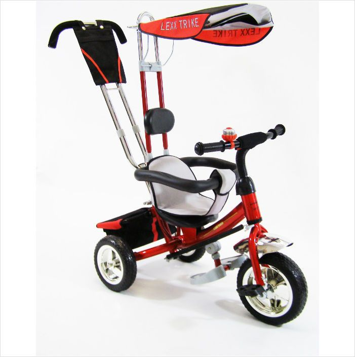 Childrens Kids Trike Tricycle Bike 3 Wheel Bike With Removable
