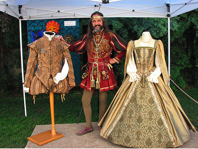 Tudor replica's. Stunning! Made by http://www.nimblearts.com/Costuming/Costuming.html