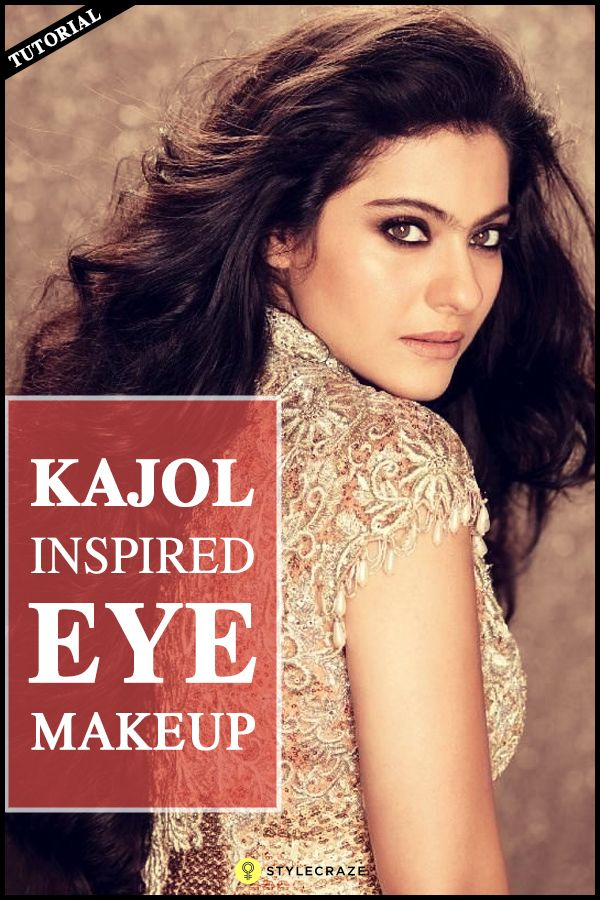 Kajol Inspired Eye Makeup Tutorial With Detailed Steps And