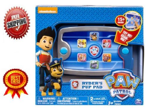 Paw Patrol Ryder's Pup Pad Mission Control Pup Pad Sound Board Phone