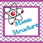 Atomic Structure PowerPoint that covers the very basics of an atom. Comes with student notes included! Used with 8th grade, easily adaptable. http://undeniabledabbler.blogspot.com/