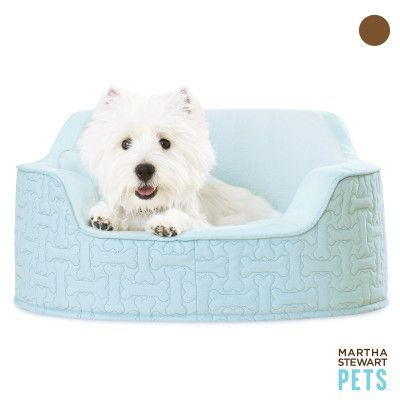 Classy Snuggler Bed For Your Pal With Bone Upholstery And Bone