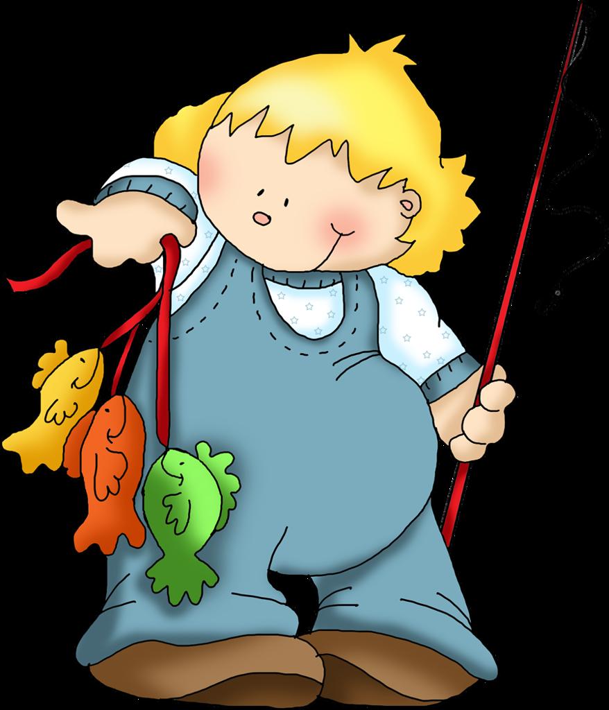 fishing kids clip art and album rh pinterest com