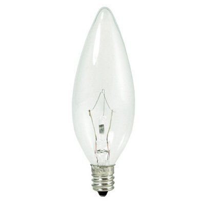Bulbrite Dimmable Krystal Touch B10 Torpedo Candelabra Light Bulb 30 Pk Bulb831 1 Light Bulb Candle