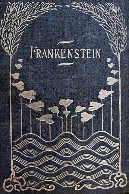 Frankenstein c 1895 Rare art nouveau cover | artwork ideas