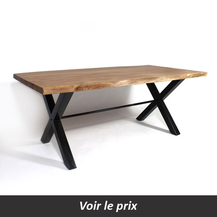 Table Plateau Bois Pied Metal.Table Plateau Bois Pied Metal Quel Modele Choisir