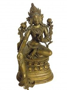 18th Century Bronze Buddha  height 15,3 cm. weight 900 grams - See more at: http://www.asiakingart.com/?p=665#sthash.T5cbjHgd.dpuf