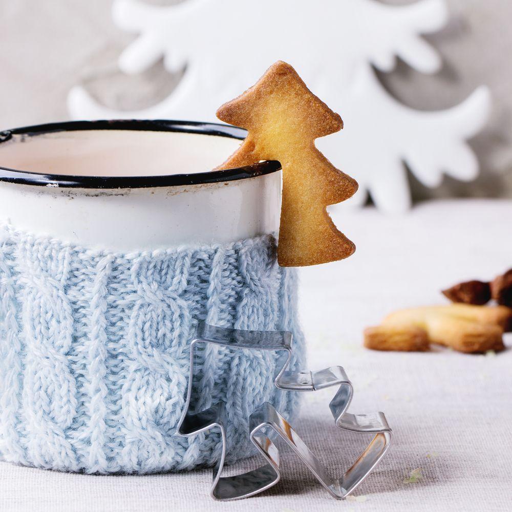 ciepło Świąt i kawy