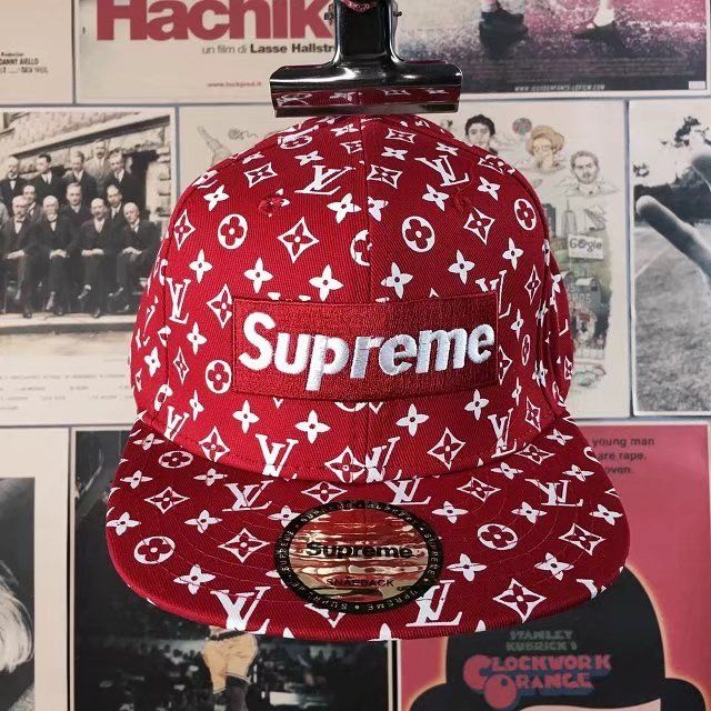 Replica Louis Vuitton Supreme Cap Adjustable ID 31377  7c764f2aab5