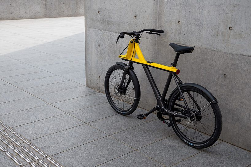 vanmoof unveils electrified X ebike tailored to the streets of tokyo
