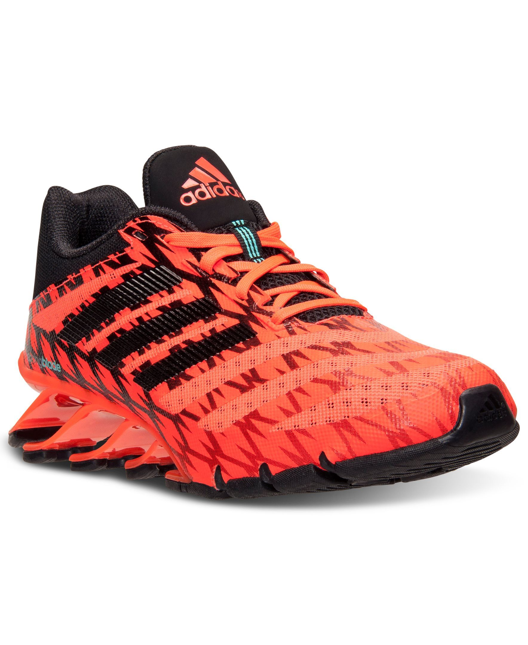 check out 30c2d 20621 adidas Men's Springblade Ignite Running Sneakers from Finish ...