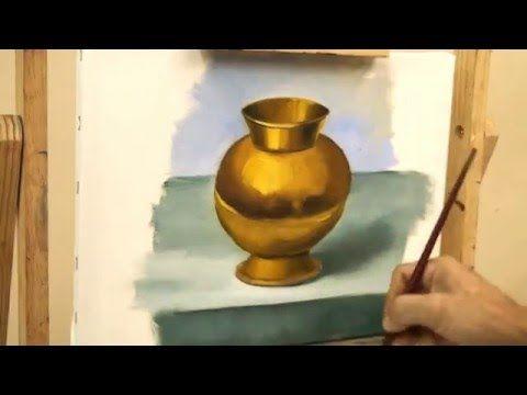 Cómo Pintar Objetos De Metal Sobre Lienzo O Papel Youtube Como Pintar En Oleo Como Pintar Pintura Y Dibujo