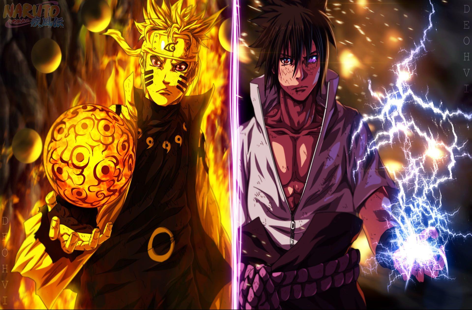 Naruto And Saske Illustration Anime Naruto Naruto Uzumaki Sasuke Uchiha 1080p Wallpaper Hdw Naruto And Sasuke Wallpaper Naruto Wallpaper Naruto And Sasuke