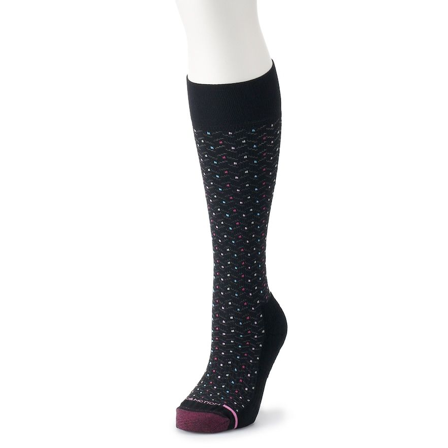 c11c76af9 Women s Dr. Motion Polka-Dot Knee-High Compression Socks