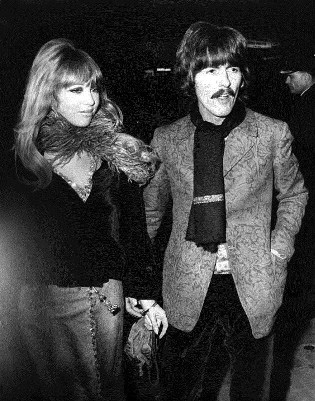 Pattie Boyd And George Harrison 1967