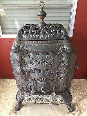 Antique Acme Jewel Parlor Stove Antique Stove Parlour Stove Antiques