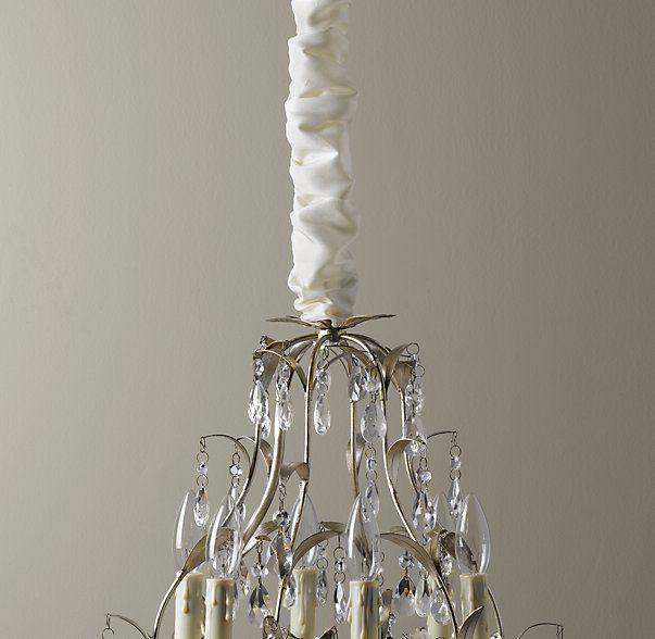 Silk chandelier cord cover bedrooms pinterest cord silk chandelier cord cover aloadofball Images