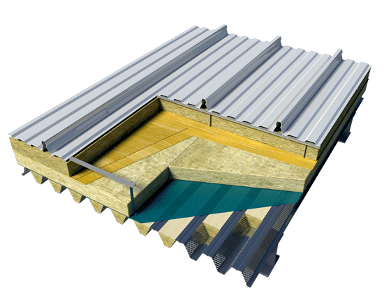Best Standing Seam Roof Insulation With Images Metal Roof 400 x 300
