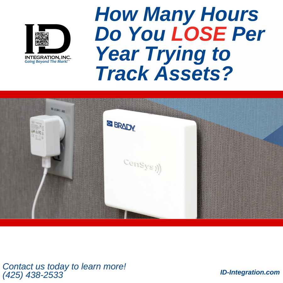 Save Money and Track Assets With The Brady® CenSys RFID