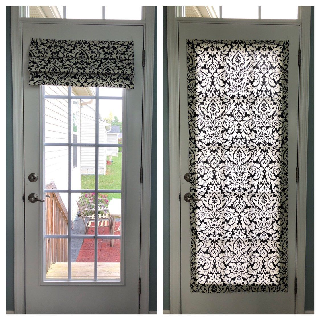magnetic shade no hardware fits doors