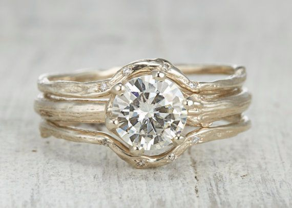 15 non traditional engagement rings that are way better than diamonds - Nontraditional Wedding Rings