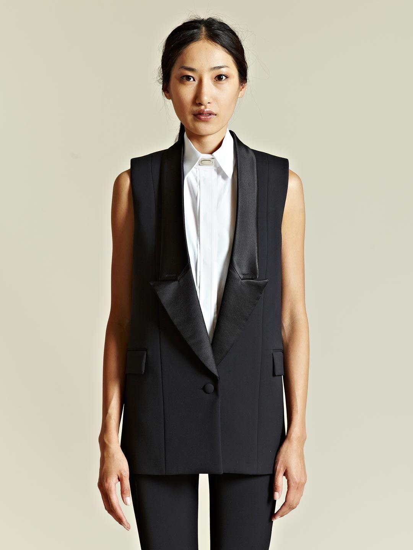 2ec617b2765 LN-CC Online Store - Men's and Women's designer clothing. May 2019.  Givenchy Women's Sleeveless Tuxedo Jacket