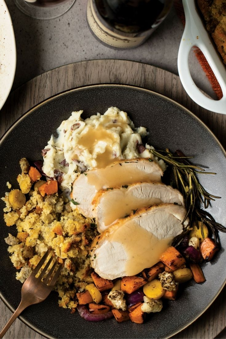 Build your own thanksgiving dinner with omaha steaks