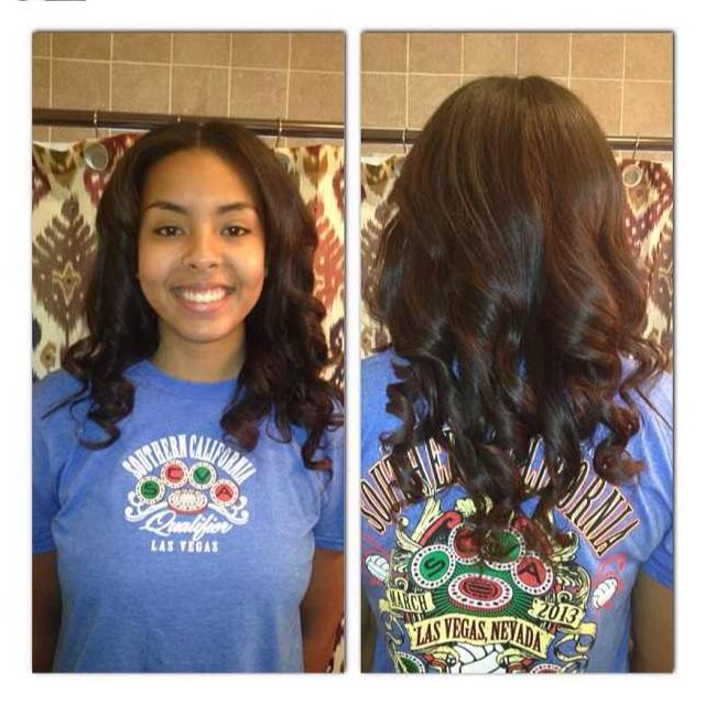 Who doesn't live a natural looking sew in?? Full see w/minimal leave out in  center.