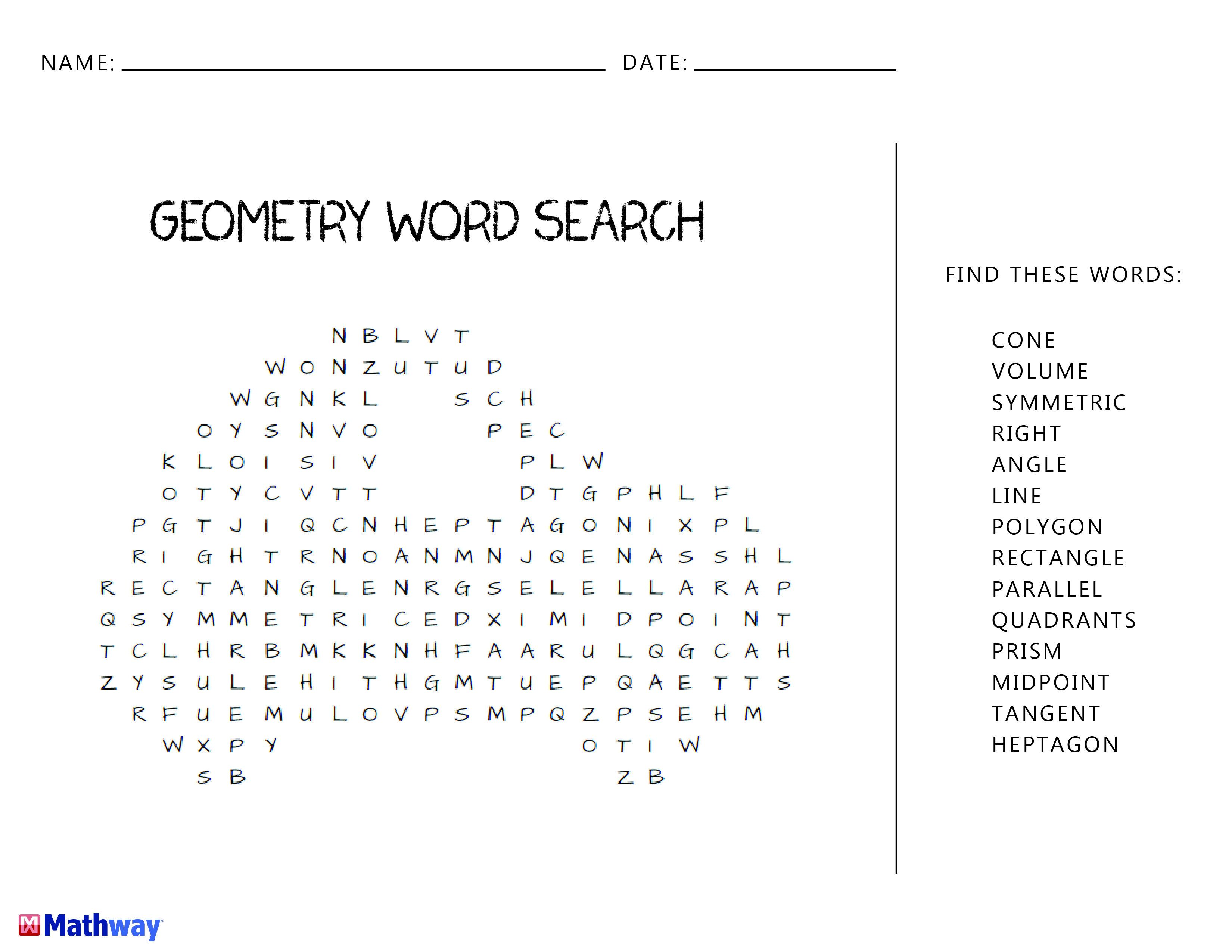 Primereadable Polygons Worksheet