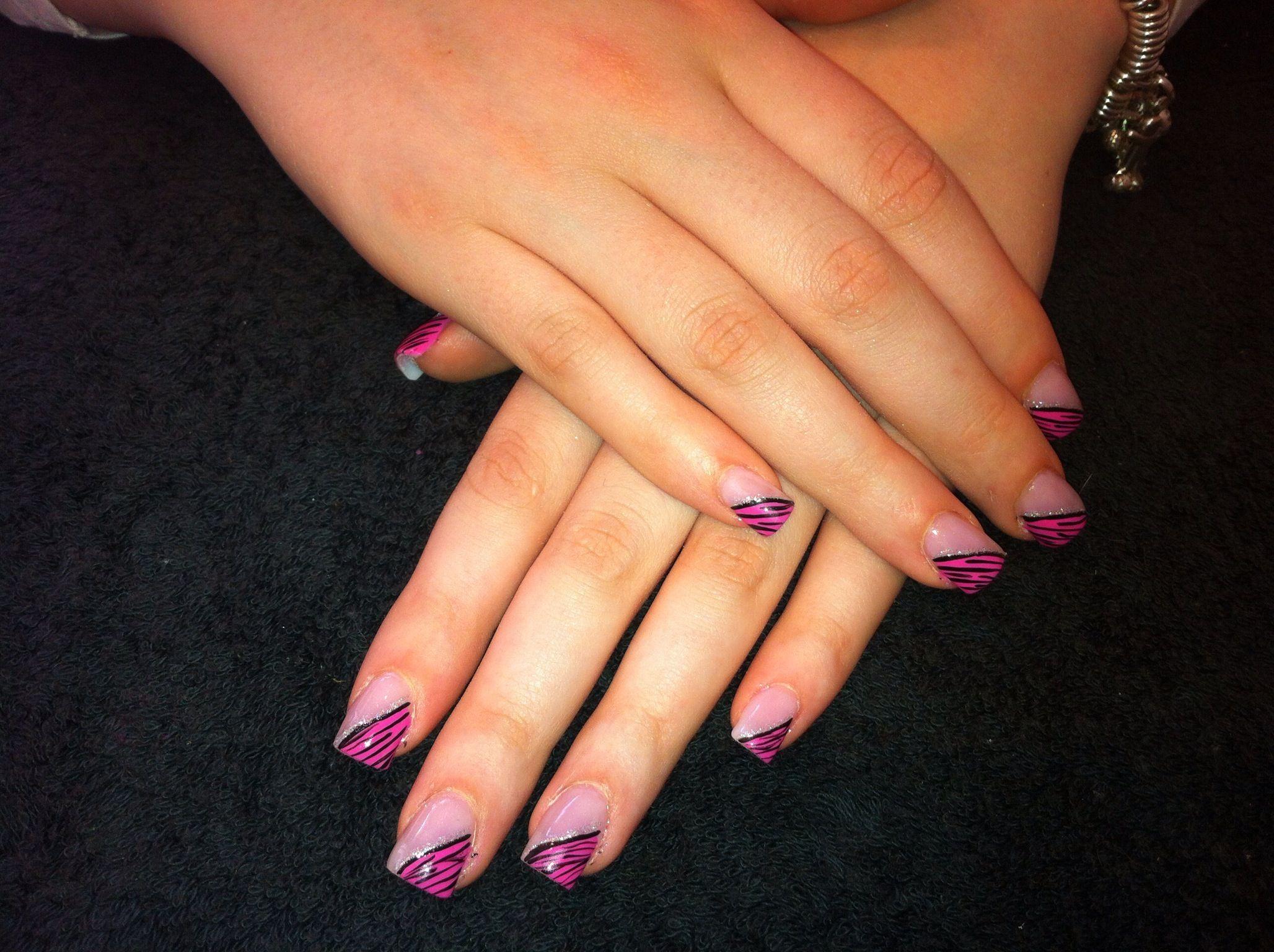 Pink zebra nails nails pinterest - Pink Zebra Nail Art Nails Pinterest Pink Zebra Nails And Zebras Pink Zebra Nail Art