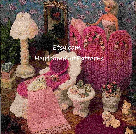 Instant Download Crochet Pattern PDF - 2156******** Fashion Doll ...